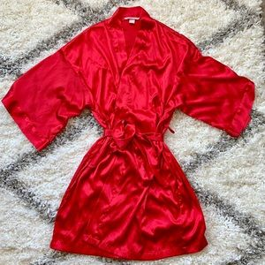 Victoria's Secret Red Robe